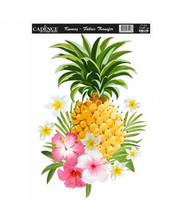 Transfer za tekstil- ananas...