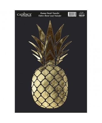 Transfer zlatni- ananas...