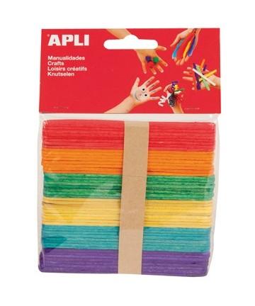 Apli drveni štapići- šareni...