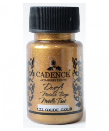 Dora metalik boja - 50 ml - zlatna oksid - 123