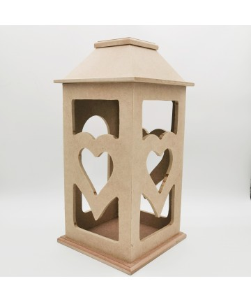 Fenjer srce- 17x17x34,5cm