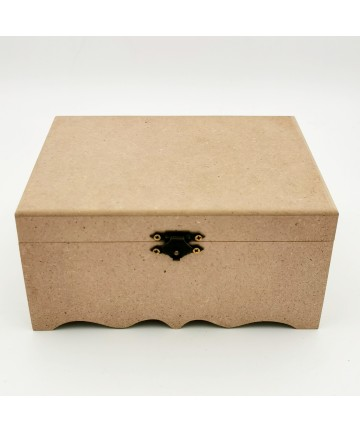 Drvena kutija- 17x17x8cm