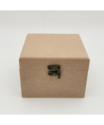 Drvena kutija- 11,5x11,5x8,5cm