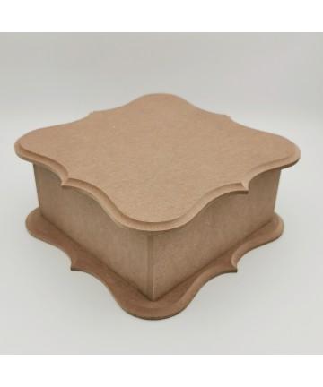 Drvena kutija 22x22x10cm