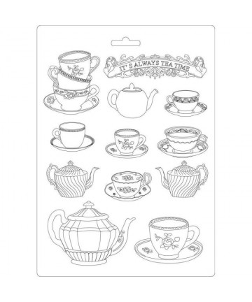 Kalup- Tea time 29.7cmx21cm