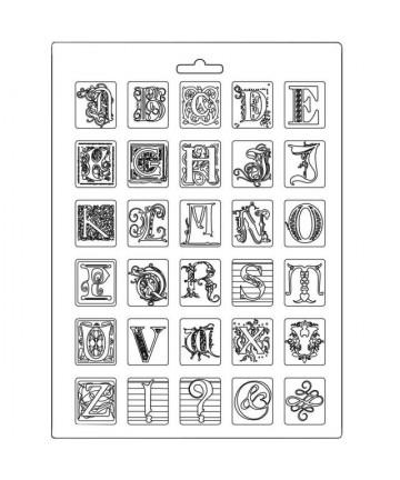 Kalup- Alphabet A4