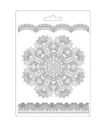 Kalup-Doily pattern 14,8x21cm