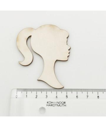 Drvena dekoracija - žena