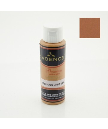 Dark Oxide Yellow - Premium Acrylic 70ml 0850