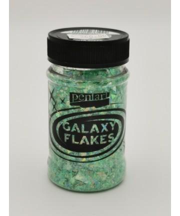 Galaxy Flakes min. 15 g Earth green