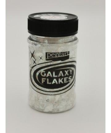 Galaxy Flakes min. 15 g Mercury white